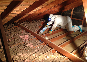Often A Home Improvement Project Is A Good Opportunity To Replace Old  Insulation.